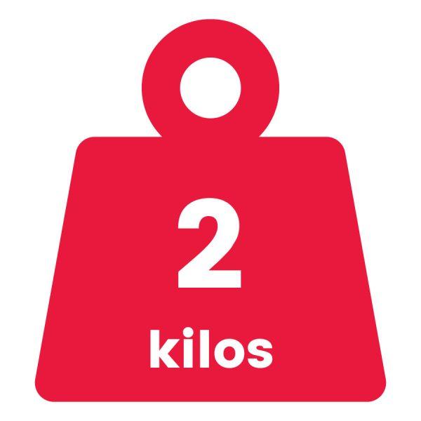 Básculas de 2 Kilogramos