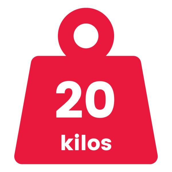 Básculas de 20 Kilogramos