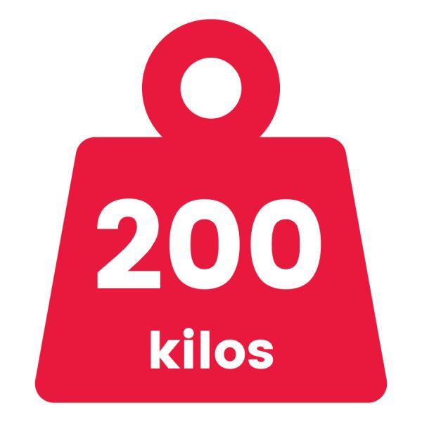 Básculas de 200 Kilogramos