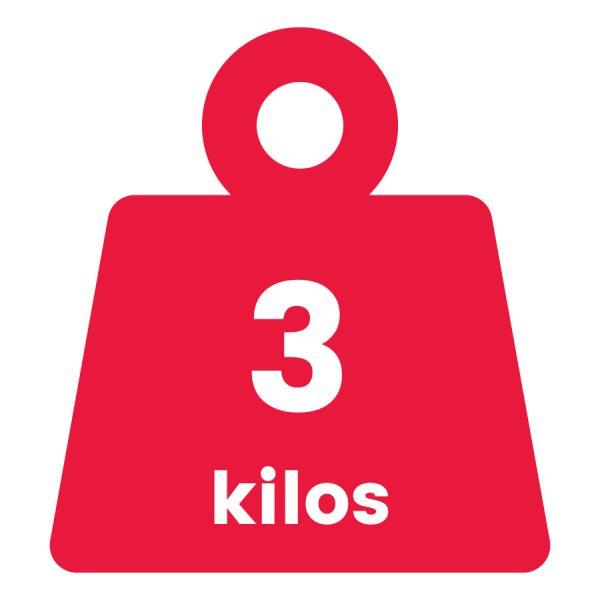 Básculas de 3 Kilogramos